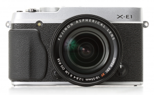 FUJIFILM X E1 DSLR Camera
