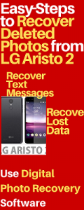 Recover Deleted Photos from LG Aristo 2