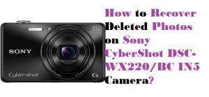 Recover Deleted Photos on Sony CyberShot DSC-WX220BC IN5
